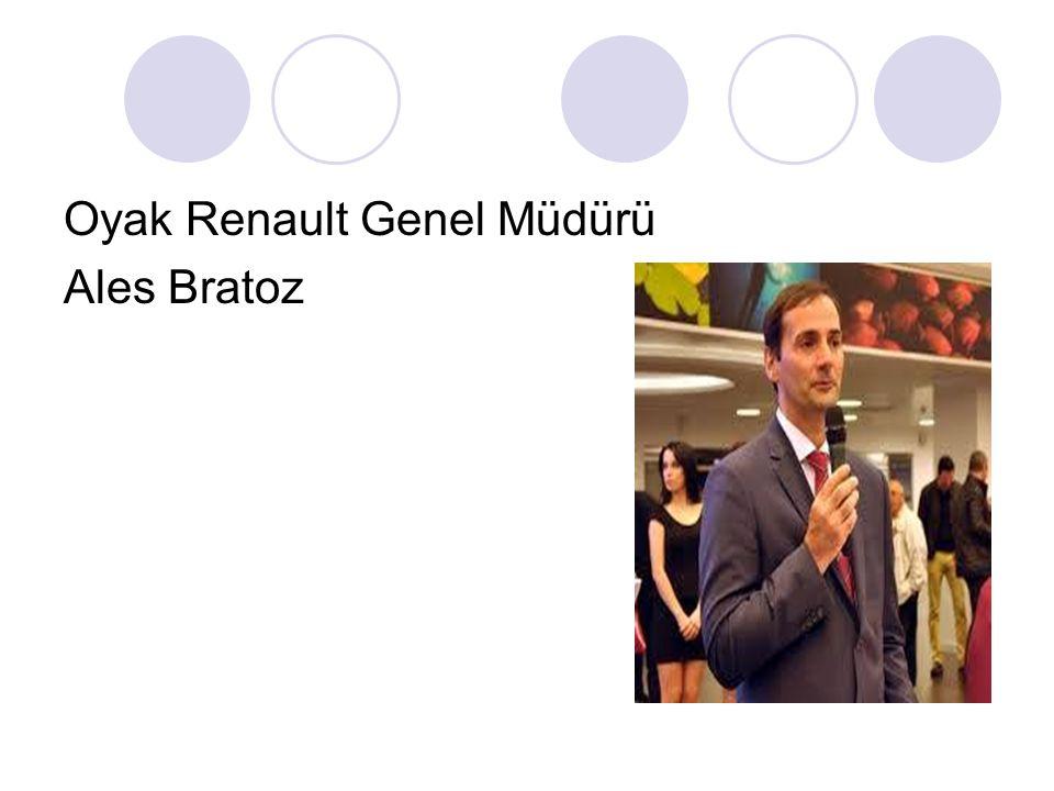 Oyak Renault Genel Müdürü