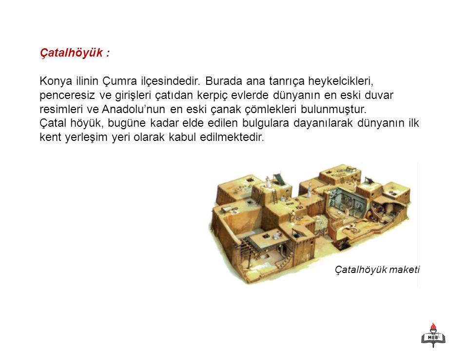 Çatalhöyük :