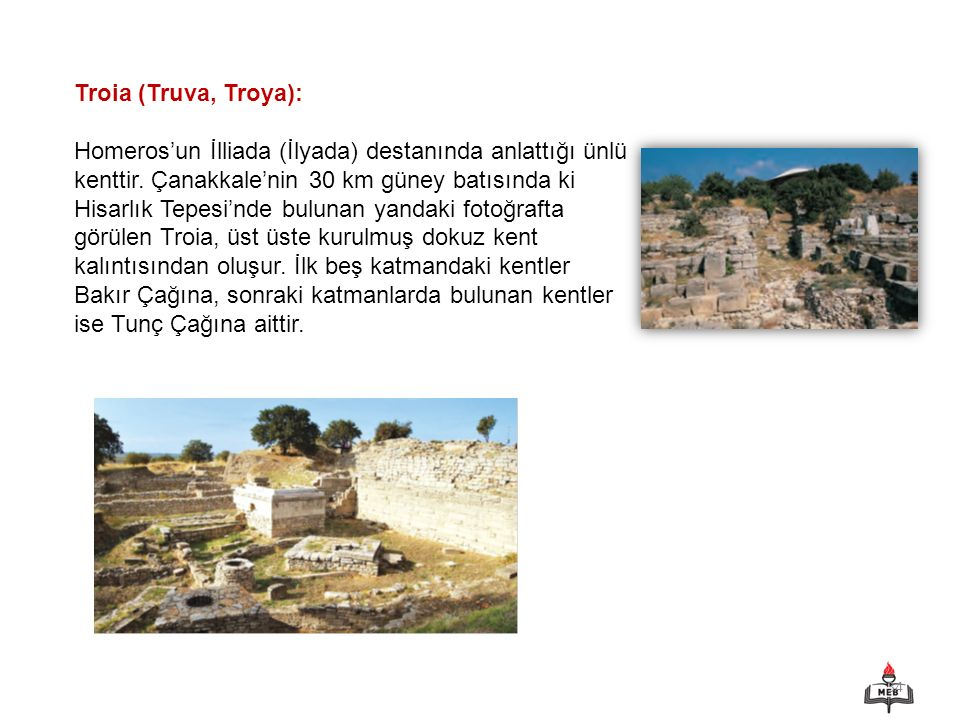 Troia (Truva, Troya):