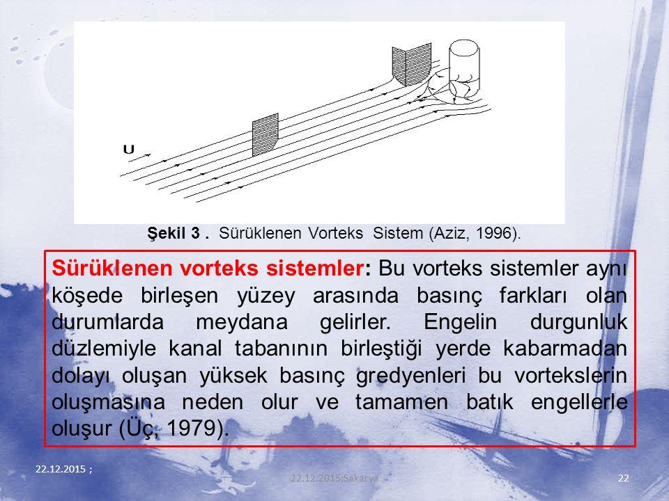 Şekil 3 . Sürüklenen Vorteks Sistem (Aziz, 1996).