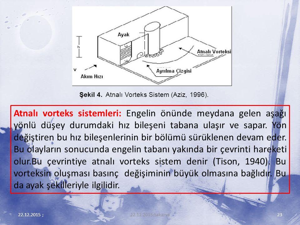 Şekil 4. Atnalı Vorteks Sistem (Aziz, 1996).