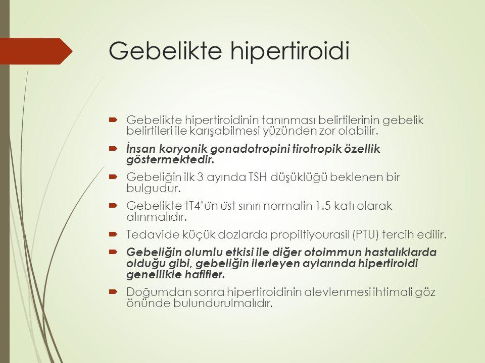 Gebelikte hipertiroidi