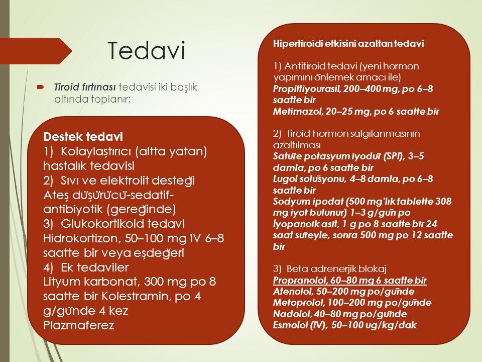 Hipertiroidi etkisini azaltan tedavi