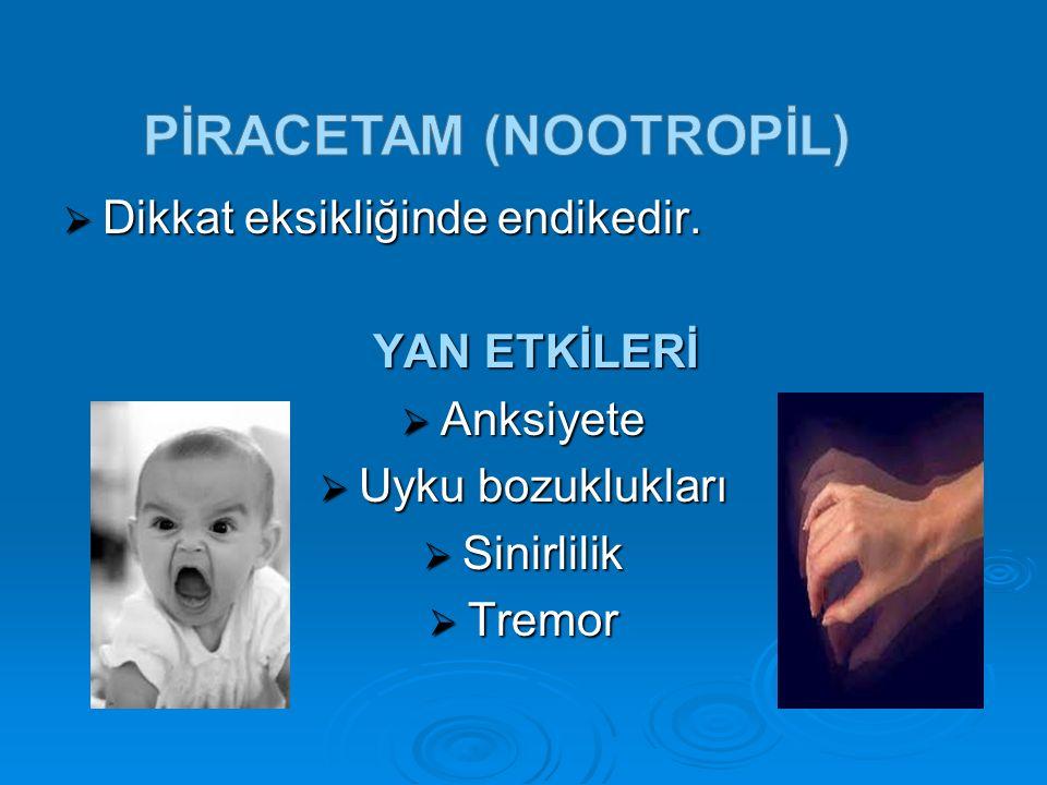 PİRACETAM (nootropİl)
