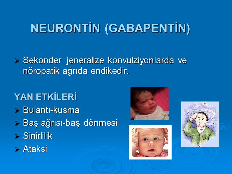 NEURONTİN (GABAPENTİN)