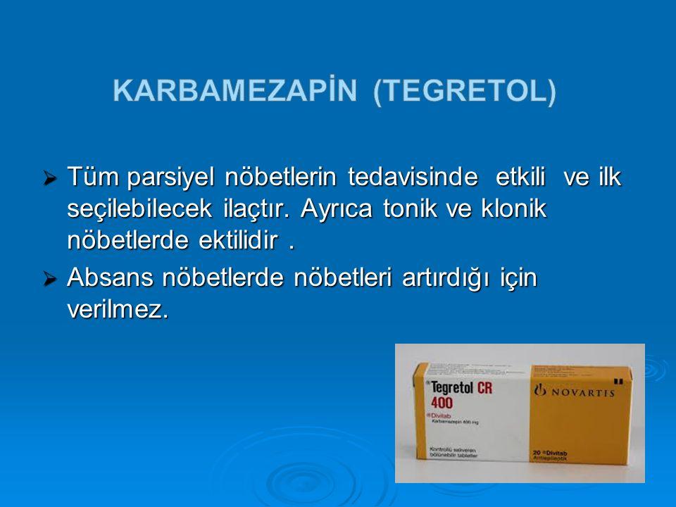 Karbamezapİn (tegretol)