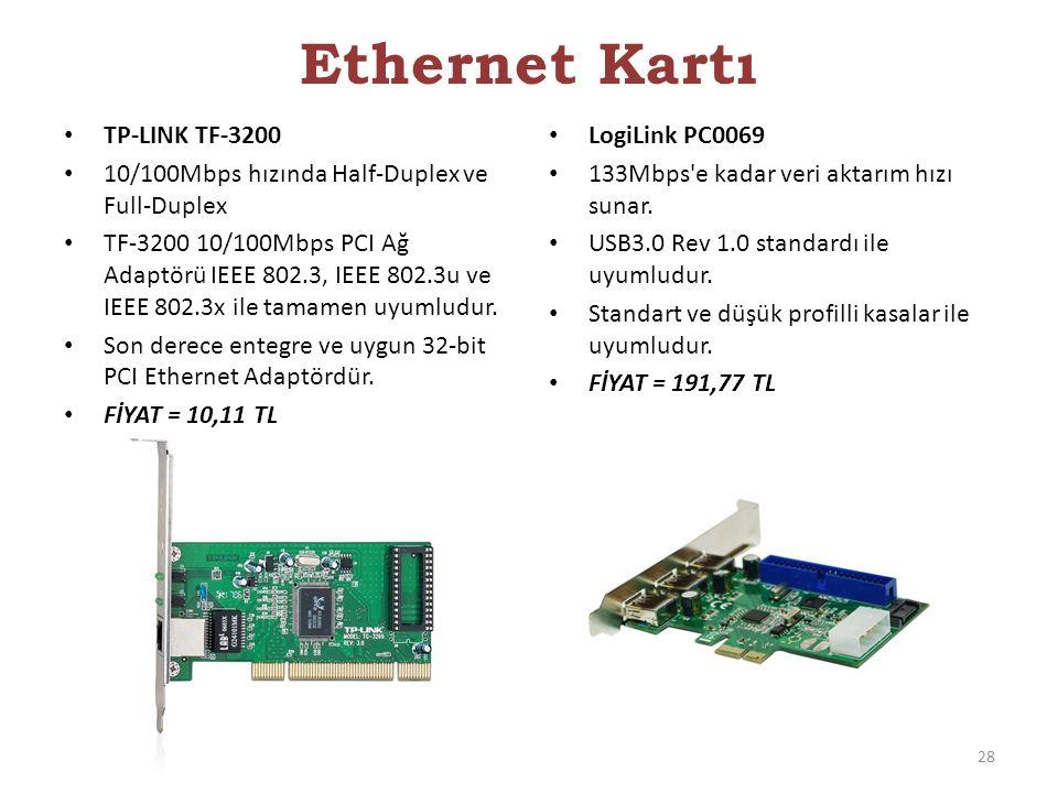 Ethernet Kartı TP-LINK TF-3200