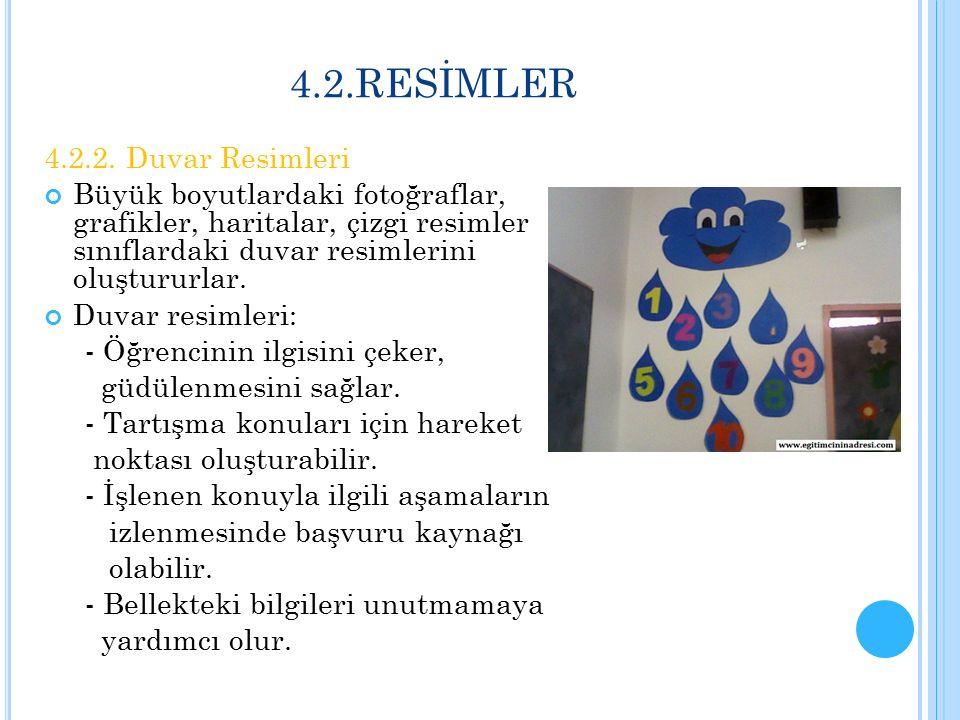 4.2.RESİMLER 4.2.2. Duvar Resimleri