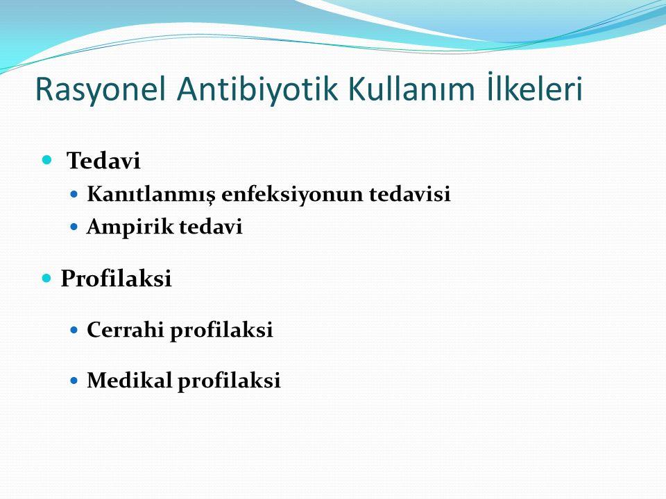 Rasyonel Antibiyotik Kullanım İlkeleri