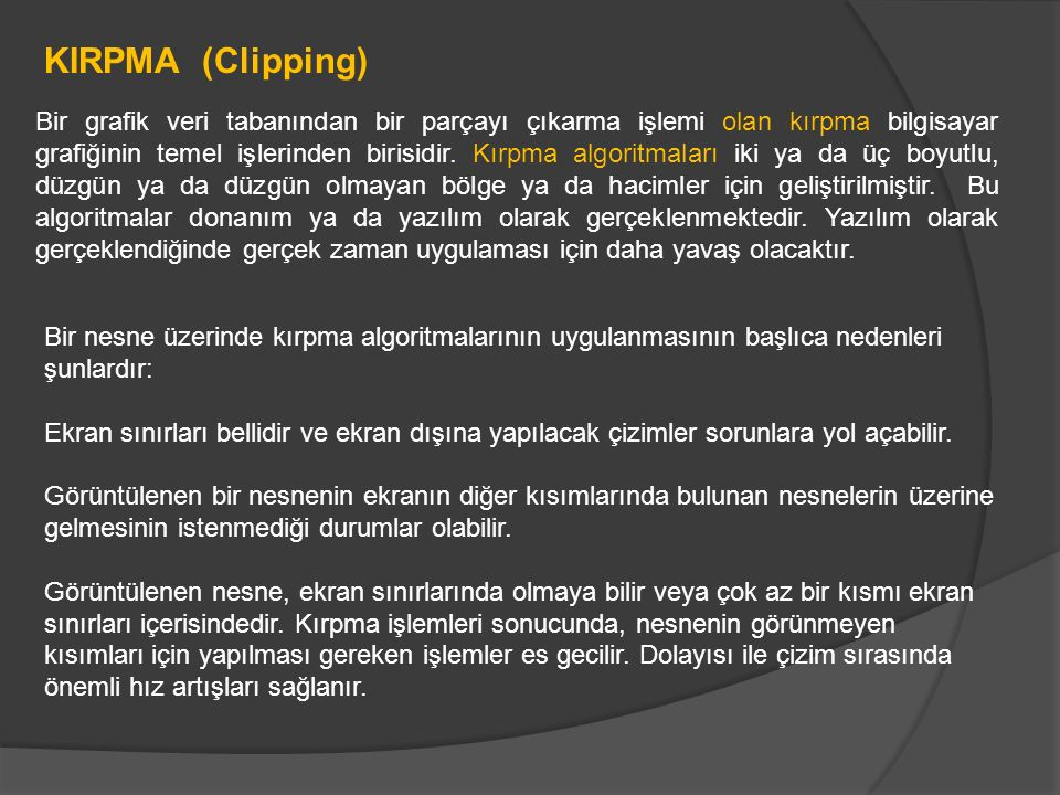 KIRPMA (Clipping)