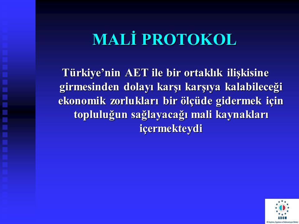 MALİ PROTOKOL