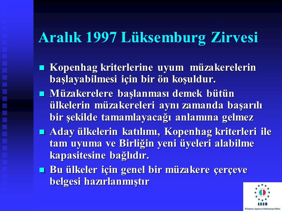 Aralık 1997 Lüksemburg Zirvesi