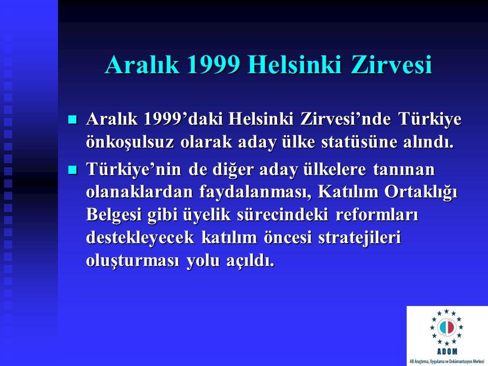 Aralık 1999 Helsinki Zirvesi