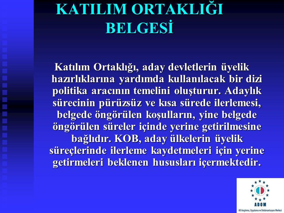 KATILIM ORTAKLIĞI BELGESİ