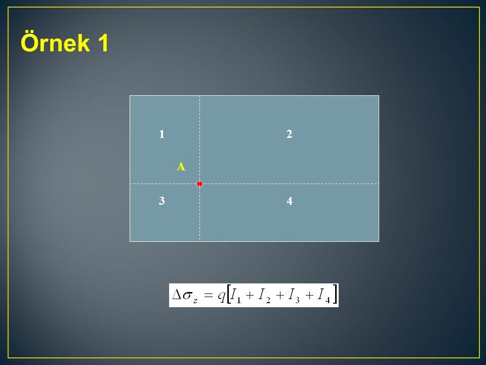 Örnek 1 1 2 A 3 4