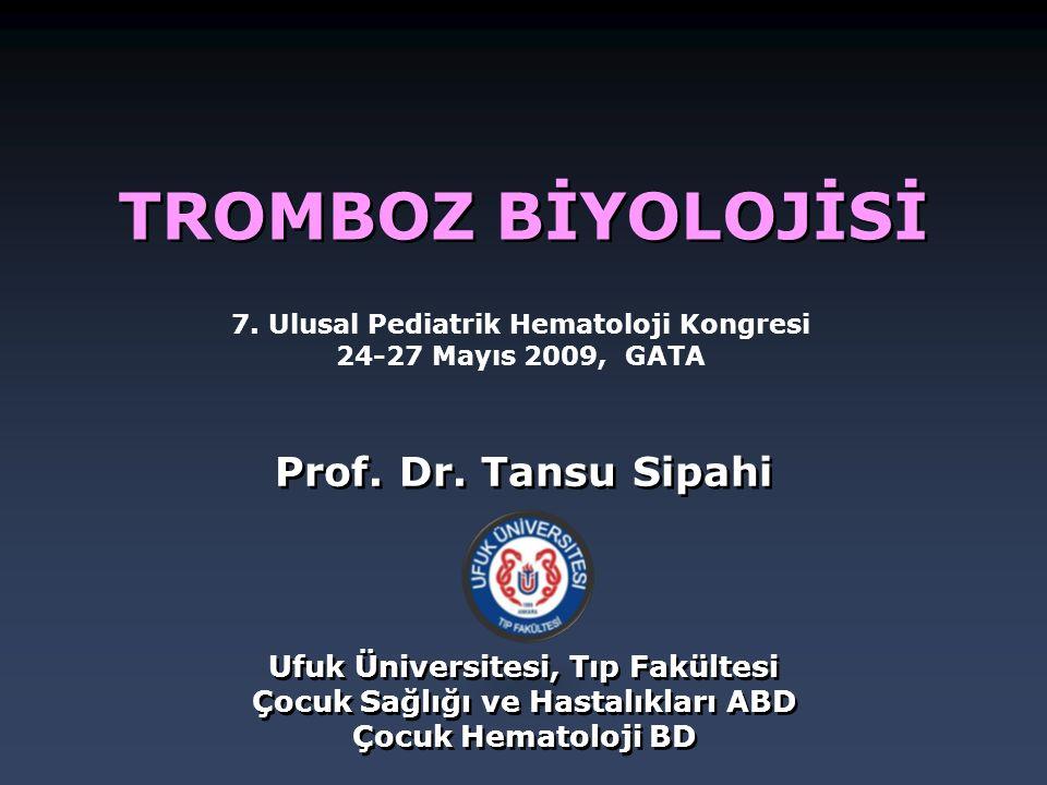 7. Ulusal Pediatrik Hematoloji Kongresi