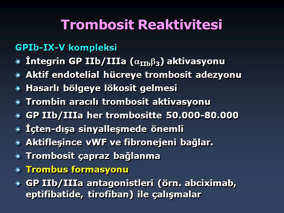 Trombosit Reaktivitesi