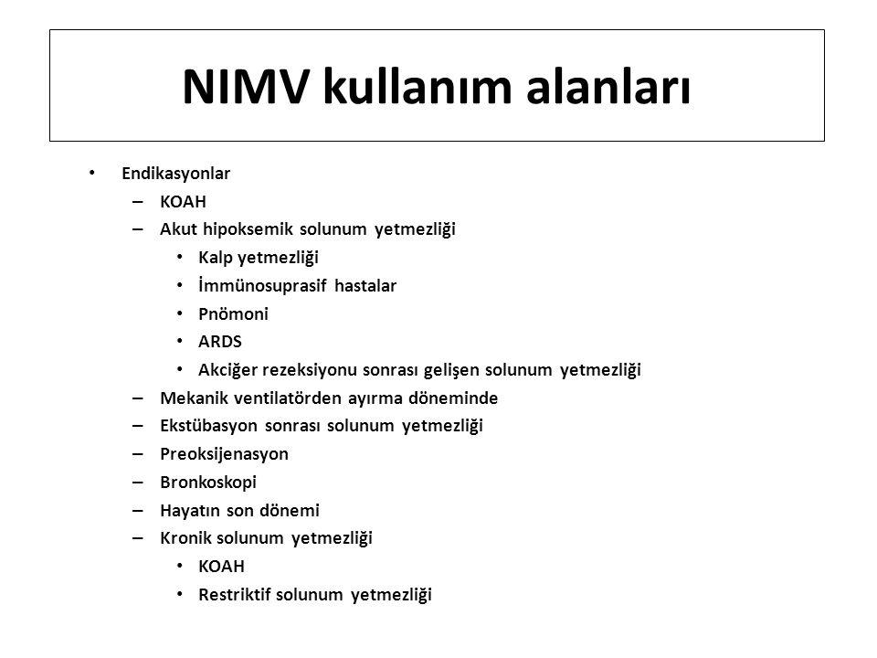 NIMV kullanım alanları