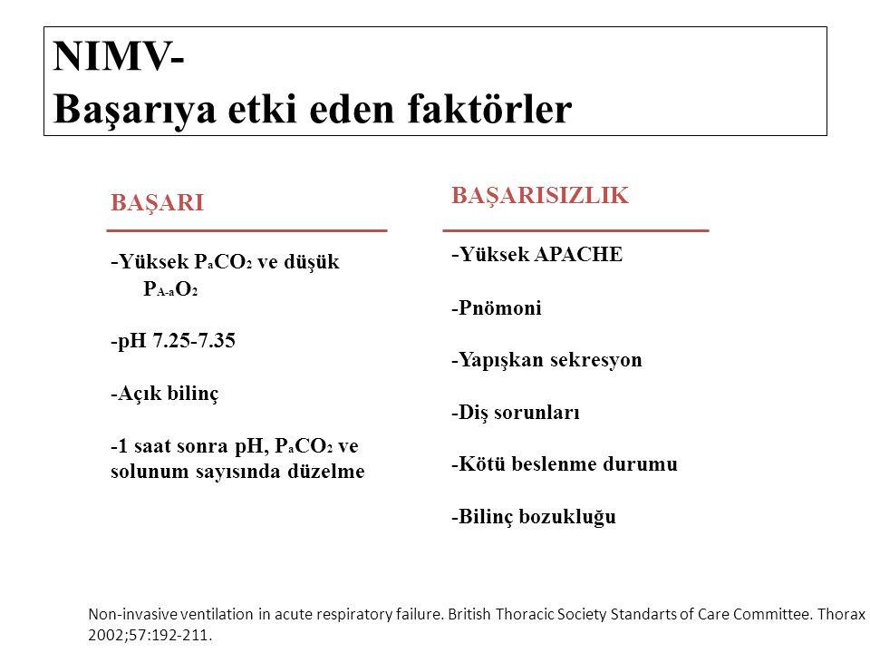 NIMV- Başarıya etki eden faktörler