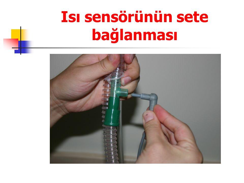 Isı sensörünün sete bağlanması