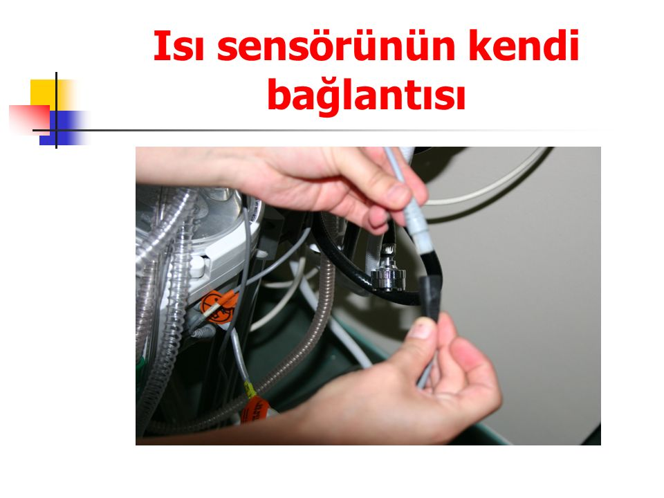 Isı sensörünün kendi bağlantısı