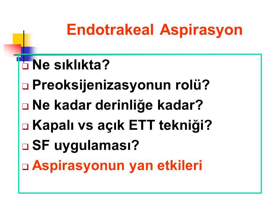 Endotrakeal Aspirasyon