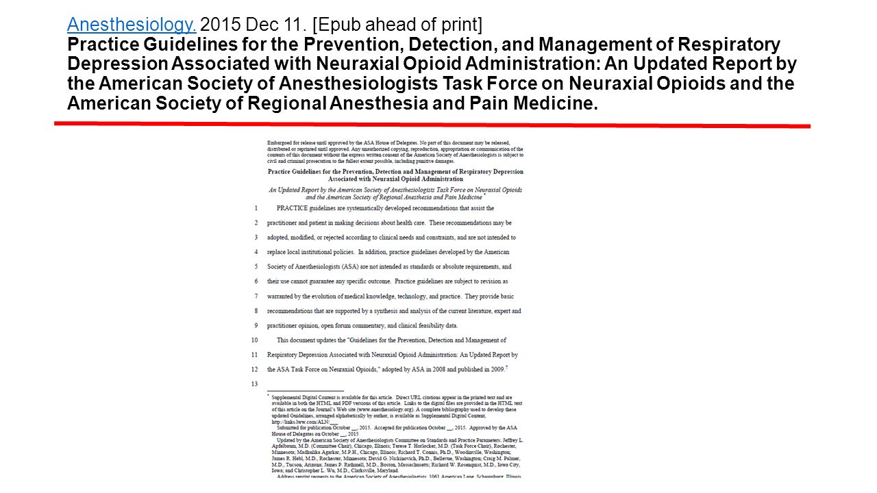 Anesthesiology. 2015 Dec 11.