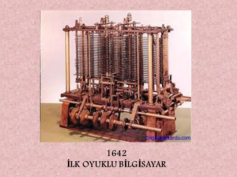 1642 İLK OYUKLU BİLGİSAYAR