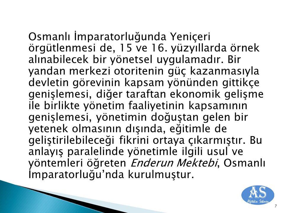 Osmanlı İmparatorluğunda Yeniçeri örgütlenmesi de, 15 ve 16