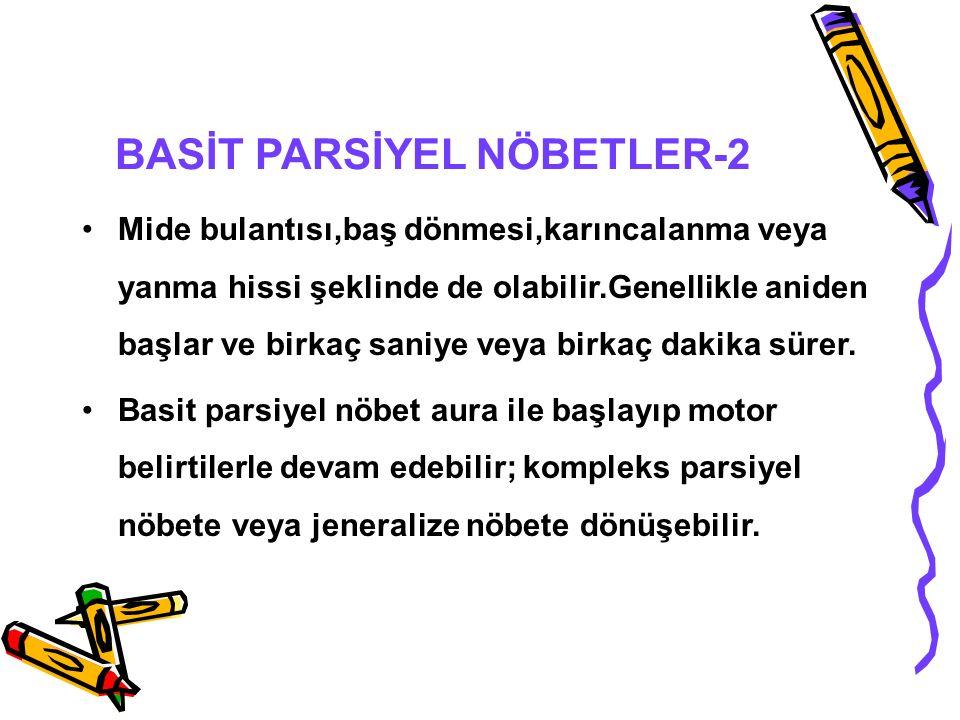 BASİT PARSİYEL NÖBETLER-2