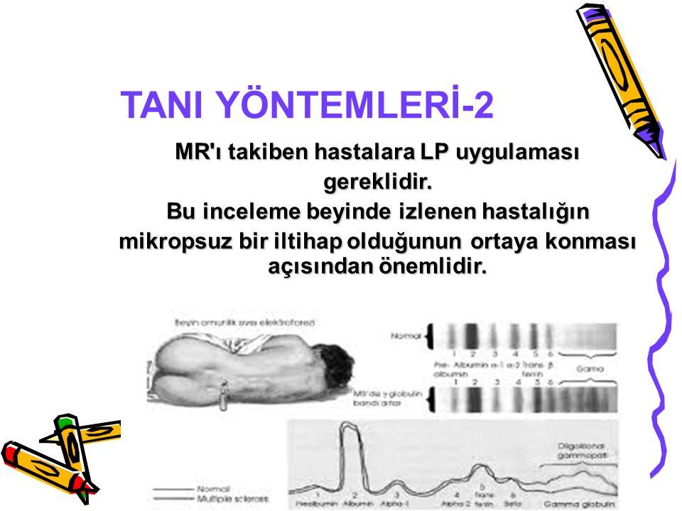 TANI YÖNTEMLERİ-2