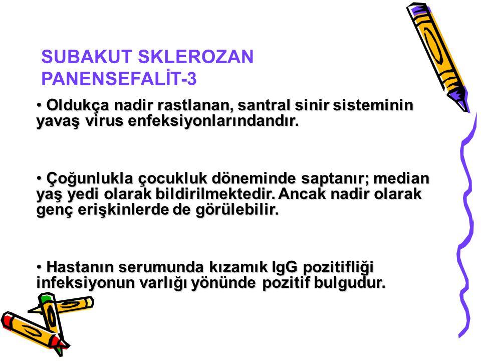 SUBAKUT SKLEROZAN PANENSEFALİT-3