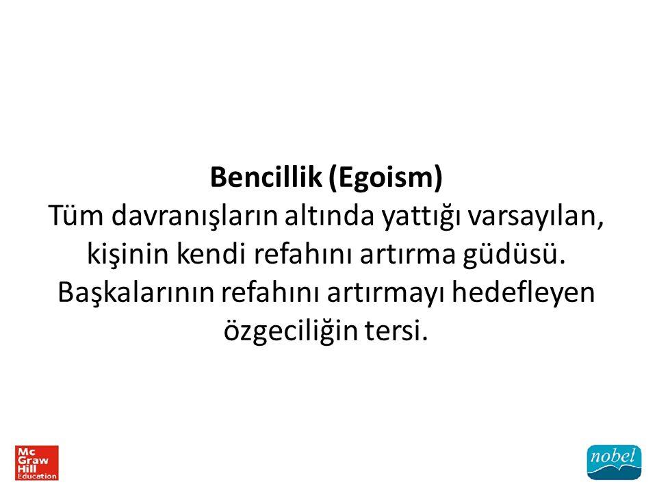 Bencillik (Egoism)