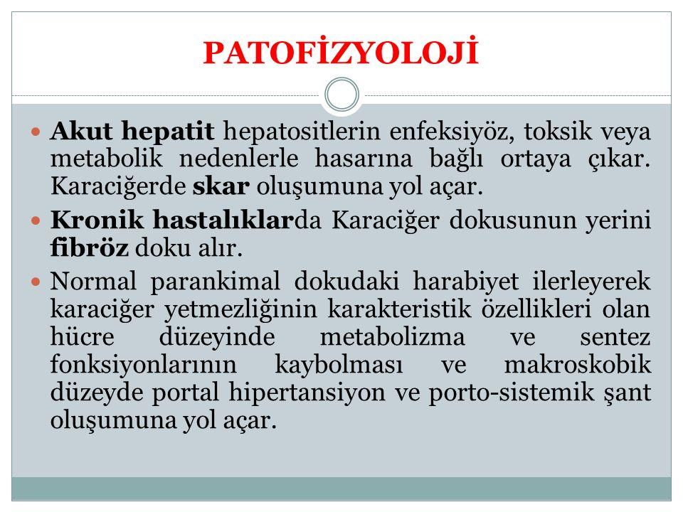 PATOFİZYOLOJİ