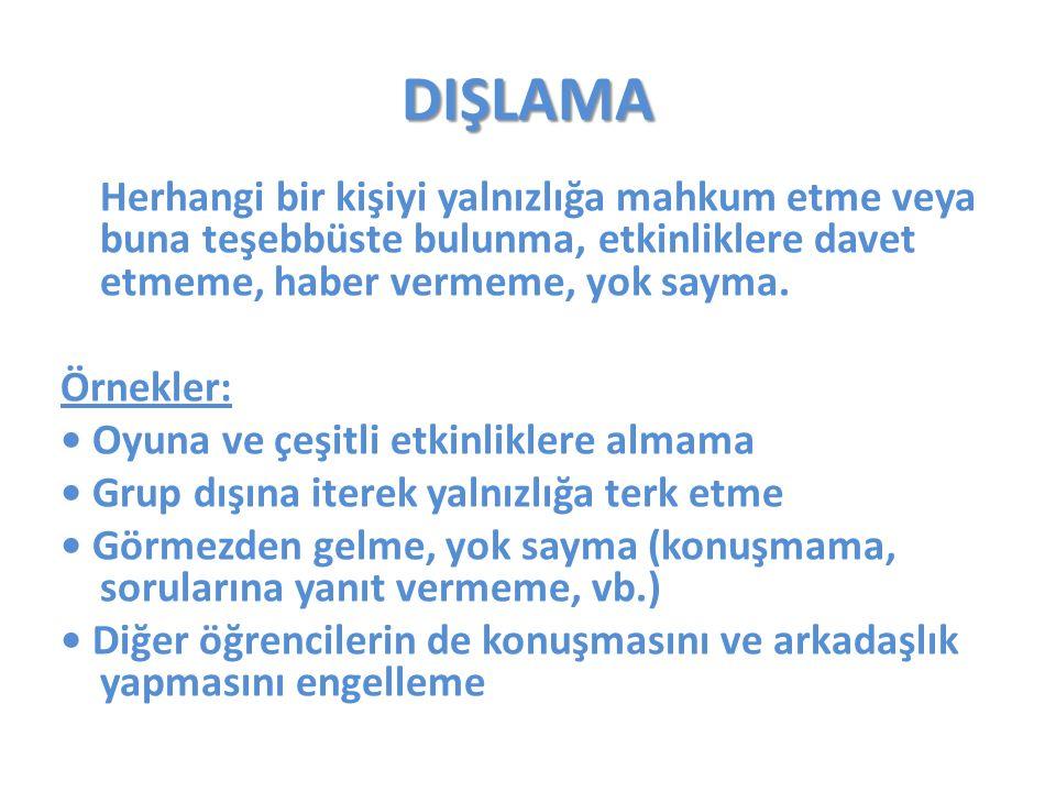 DIŞLAMA