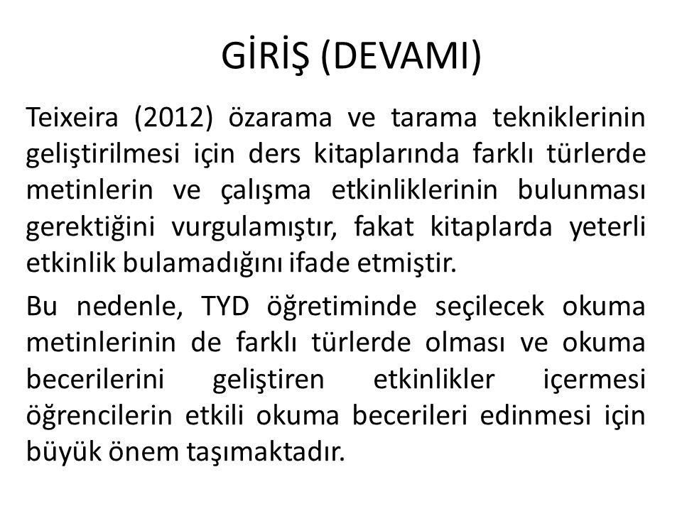 GİRİŞ (DEVAMI)
