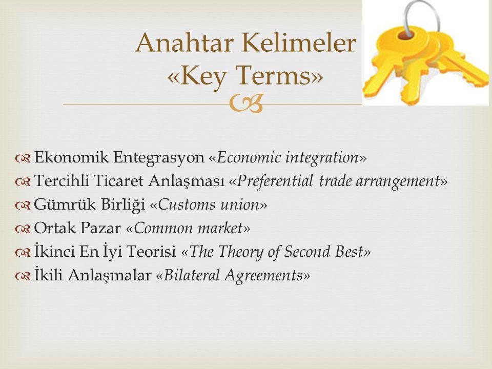 Anahtar Kelimeler «Key Terms»