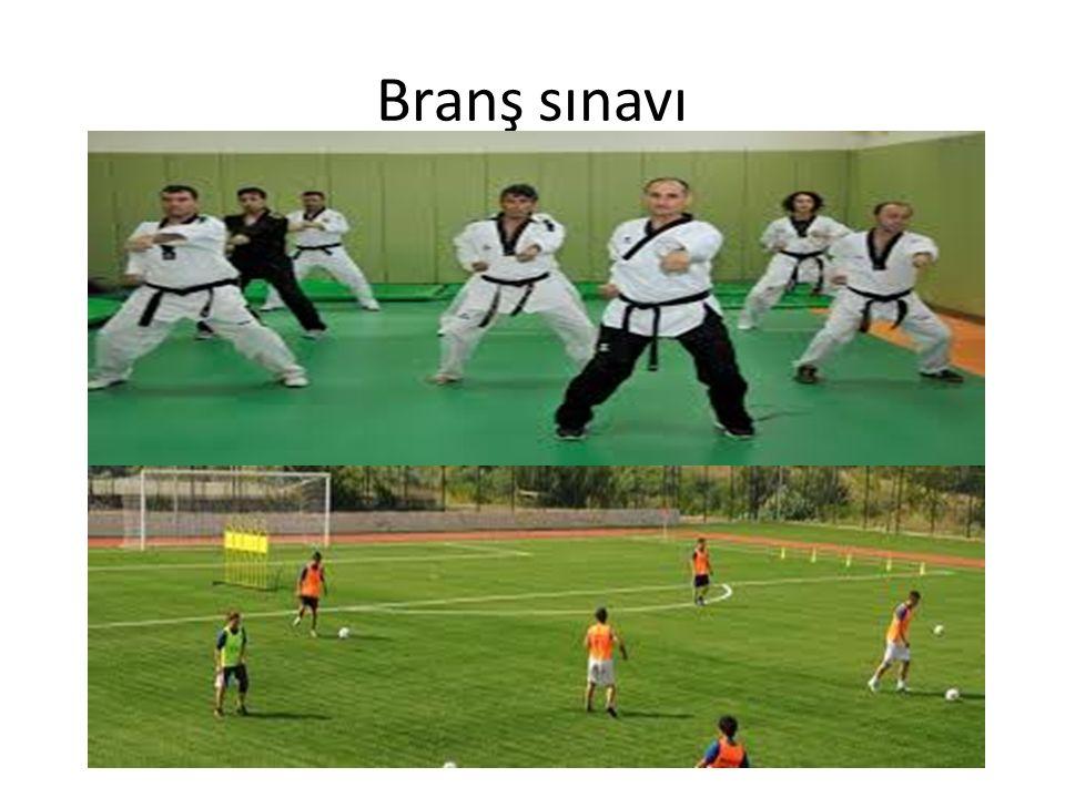Branş sınavı