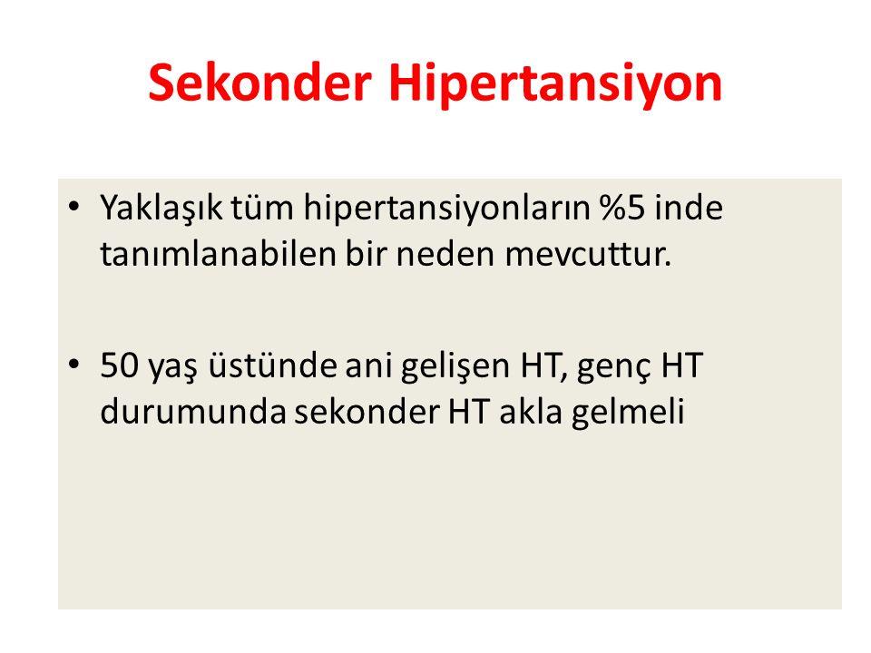 Sekonder Hipertansiyon