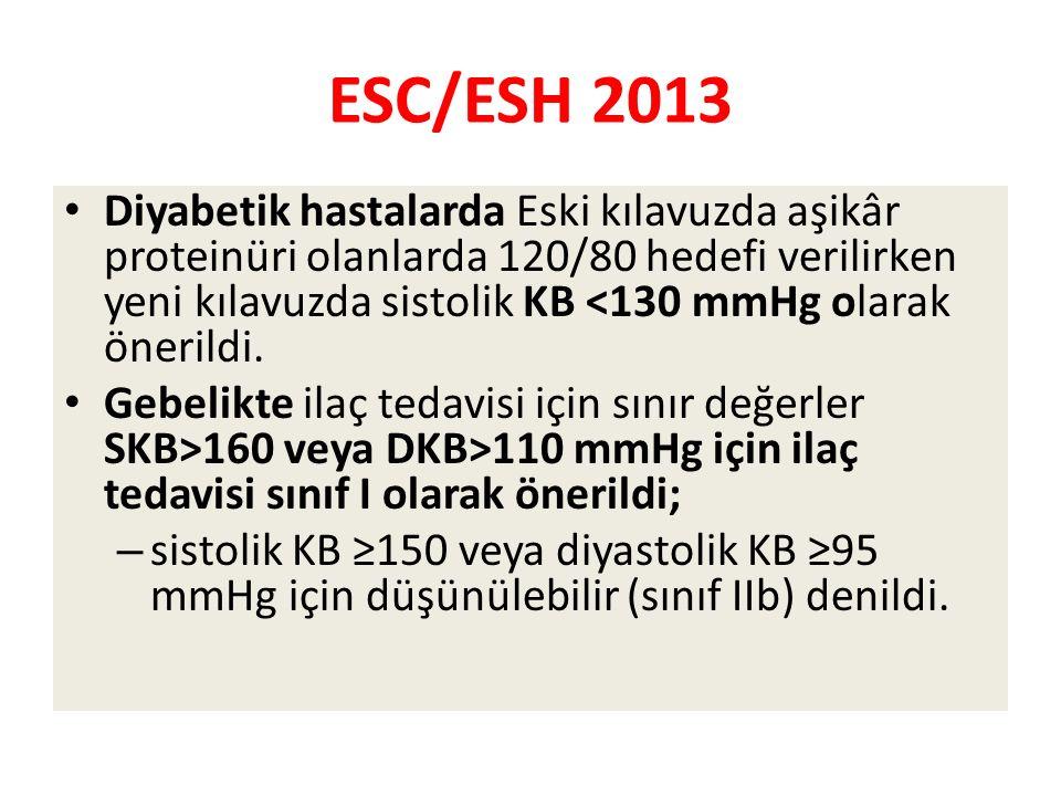 ESC/ESH 2013