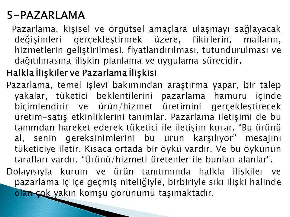 5-PAZARLAMA