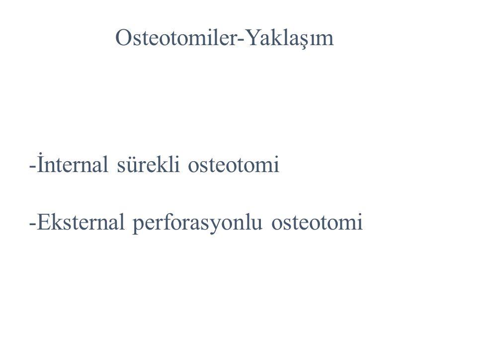 Osteotomiler-Yaklaşım
