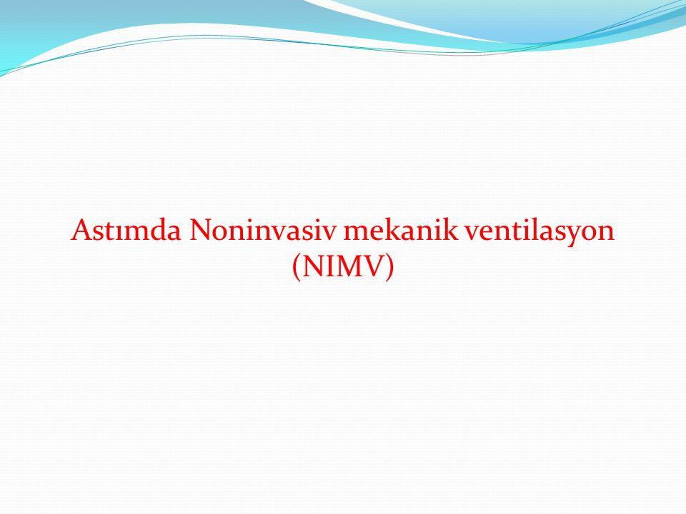 Astımda Noninvasiv mekanik ventilasyon (NIMV)