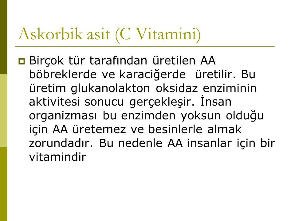 Askorbik asit (C Vitamini)