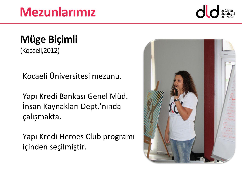 Müge Biçimli (Kocaeli,2012)