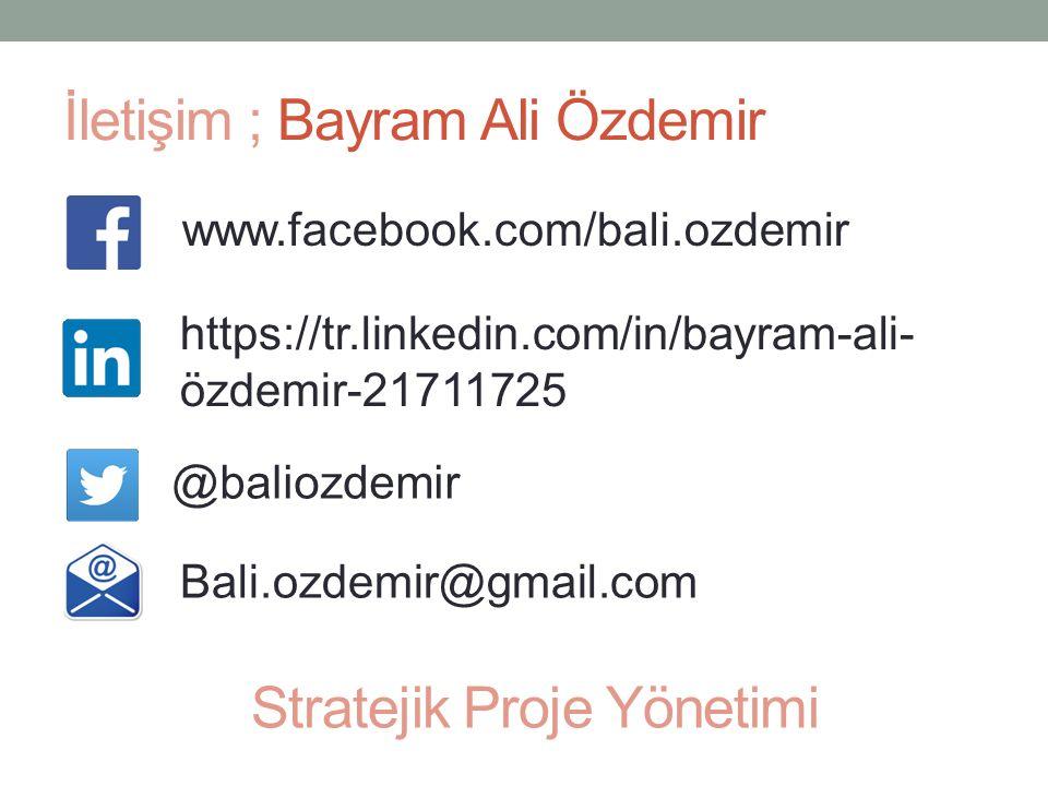 İletişim ; Bayram Ali Özdemir