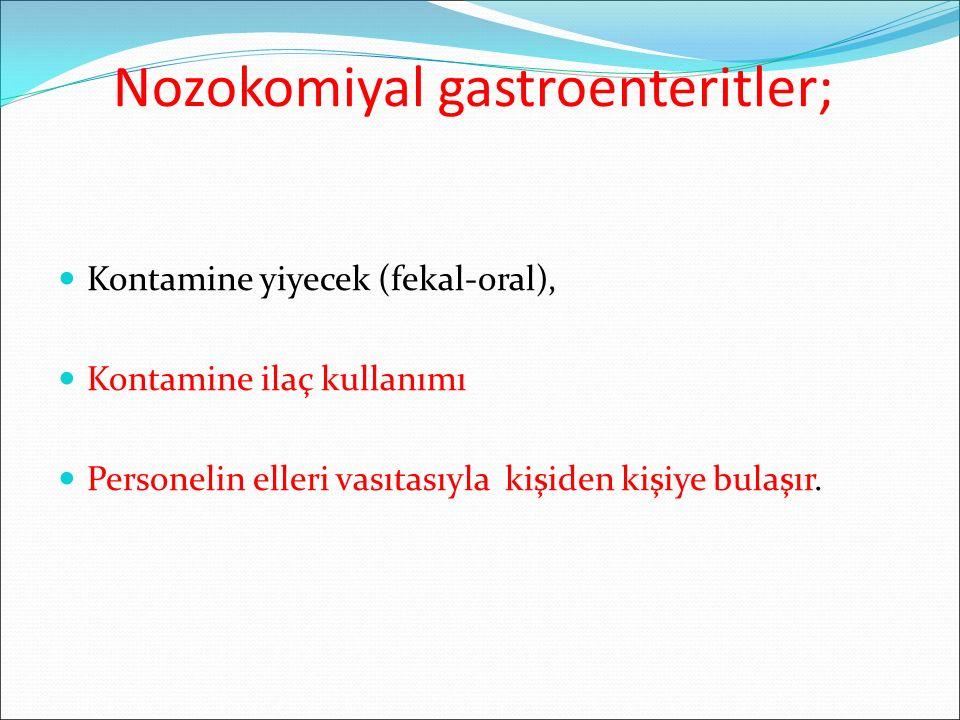 Nozokomiyal gastroenteritler;