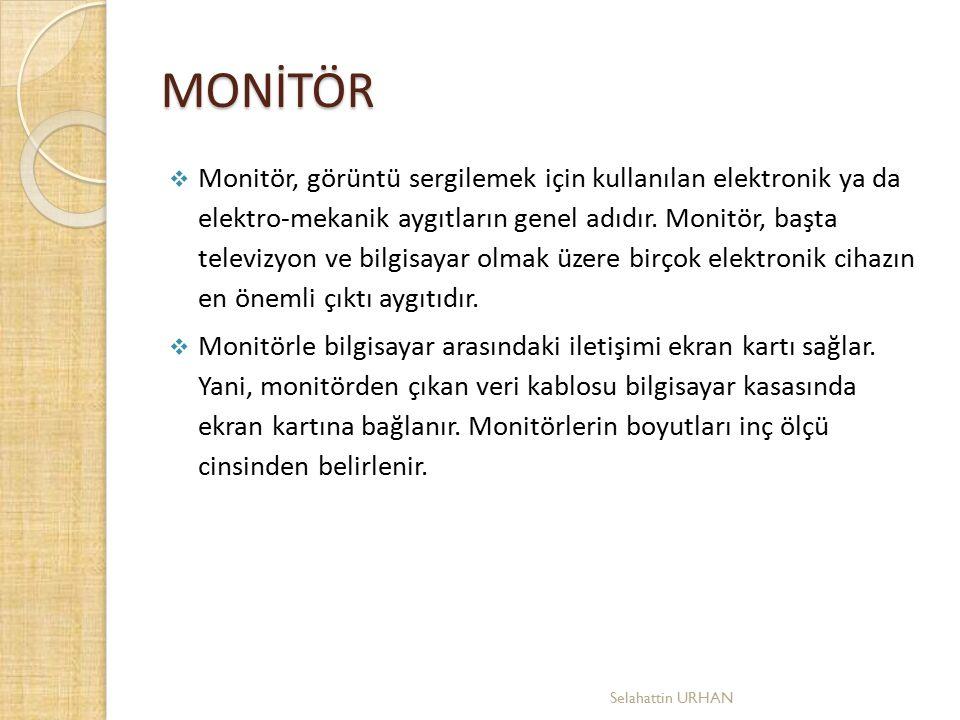 MONİTÖR