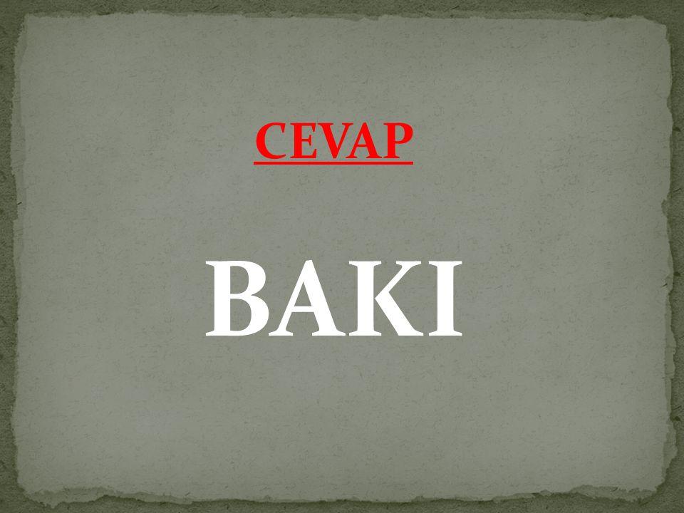 CEVAP BAKI