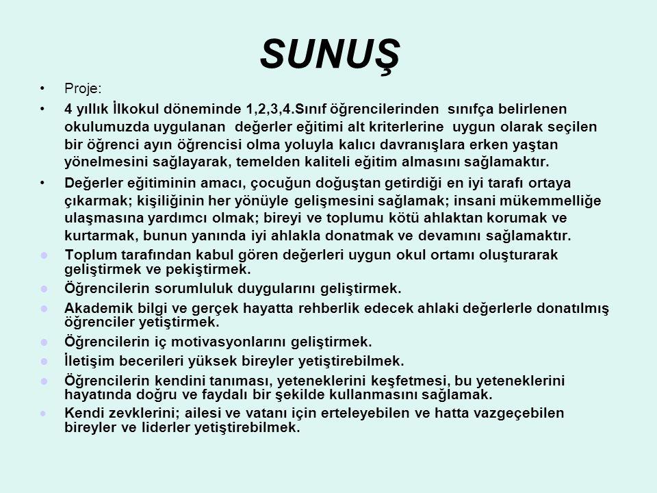 SUNUŞ Proje: